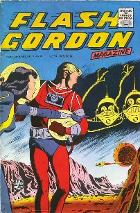 FLASH GORDON nº034 - EDITORA RGE